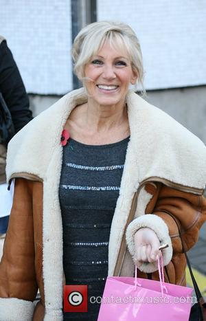 Ingrid Tarrant  Celebrities outside the ITV television studios.  London, England - 10.11.10