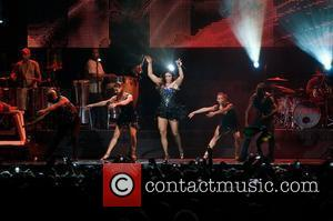 Ivete Sangalo  performing at the American Airline Arena  Miami, Florida - 28.08.10