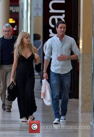 Jack Tweed and Chanelle Hayes  spotted at the Bluewater Shopping Centre in Greenhithe Kent, England - 21.04.10