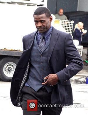 Michael Irvin on the movie set for the feature film 'Jack and Jill' Los Angeles, California - 20.10.10