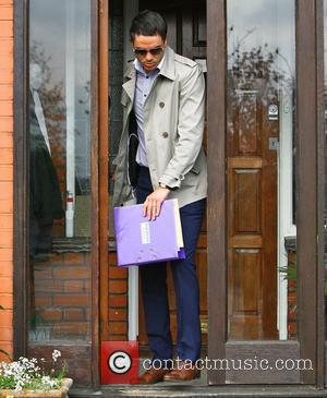 Jack Tweed  leaving home on his way to court on the final day of his trial where he stands...