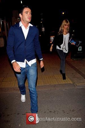 Jack Tweed and Chanelle Hayes leaving Sheesh restaurnat in Buckhurst Hill Essex, England - 16.04.10