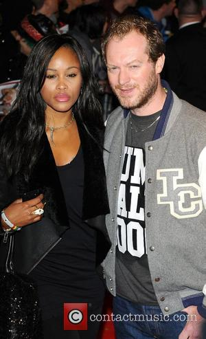 Rapper Eve and Maximillion Cooper UK premiere of 'Jackass 3D' at BFI IMAX  London, England - 02.11.10
