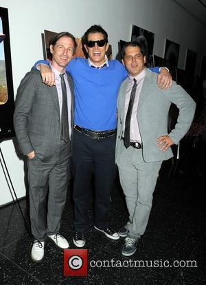 Spike Jonze, Johnny Knoxville, Jeff Tremaine World premiere of 'Jackass 3D' at the Museum of Modern Art New York City,...