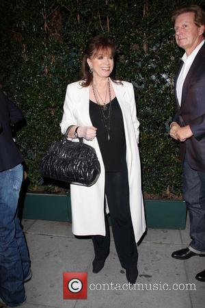 Jackie Collins leaving Mr Chow restaurant Beverly Hills, California - 02.12.10
