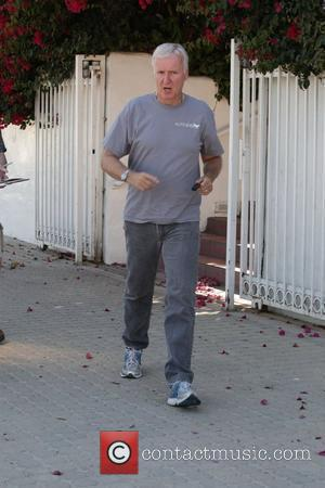 James Cameron is seen leaving Malibu Country Mart after having lunch with a friend Malibu, California - 25.09.10