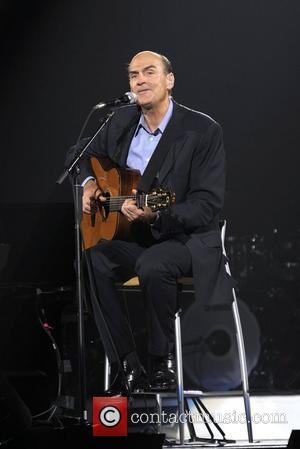 James Taylor performing on stage during the 'Troubadour Reunion' tour at the Air Canada centre.  Toronto, Canada - 28.05.10...