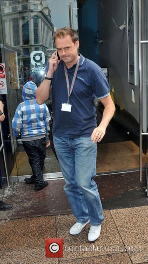 Jamie Theakston outside the Heart Radio studios London, England - 22.07.10