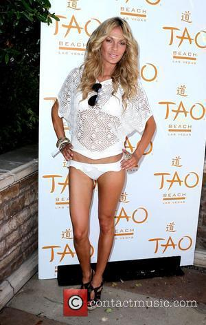 Jasmine Dustin celebrates her role in Iron Man 2 by hosting a party at TAO Beach at The Venetian Resort...