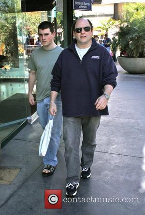 Jason Alexander and his son shopping in West Hollywood Los Angeles, California - 31.10.10