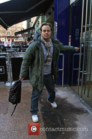 Jason Donovan  arriving at the Heart FM studios in central London. London, England - 08.01.10