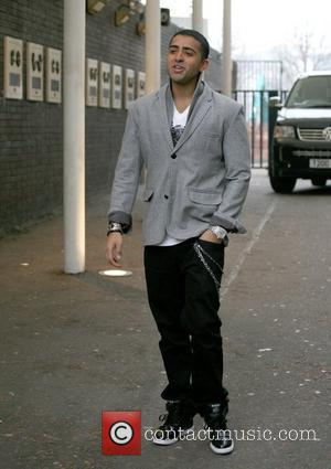 Singer Jay Sean leaving the London Studios after appearing on 'GMTV' London, England - 18.02.10