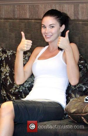 Playboy playmate Jayde Nicole  getting a medicure and pedicure with her friend at a salon Beverly Hills, California -...