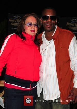 Teena Marie and K'Jon The 5th Annual Jazz In The Gardens Press Conference at The Seminole Hard Rock Hotel &...