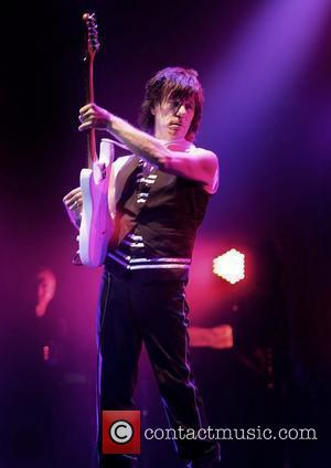 Jeff Beck performing at Manchester O2 Apollo Theatre. Manchester, England - 21.10.10