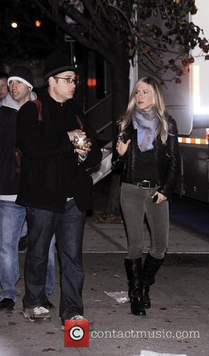 Jennifer Aniston and David Wain