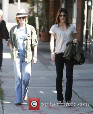 'Dexter' star Jennifer Carpenter and 'Mad Men' star January Jones shopping together at Satine Boutique in West Hollywood Los Angeles,...