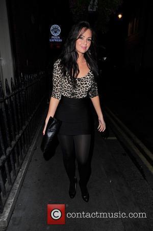Hollyoaks star Jennifer Metcalf arrives Maya night club to celebrate her birthday London, England - 28.08.10