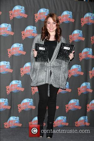 Jennifer Stone  promotes the DVD release of 'Harriet The Spy: Blog Wars' at Planet Hollywood in Times Square. New...