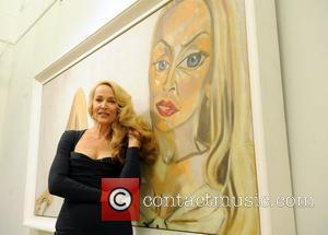 Jerry Hall and Bond