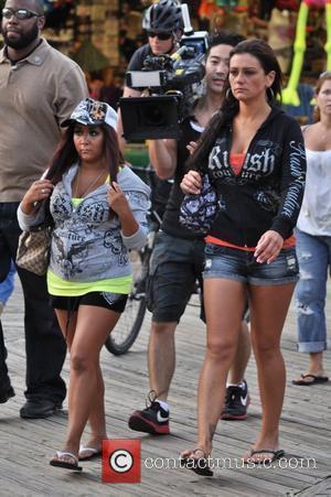 Jenni Farley and Nicole Polizzi
