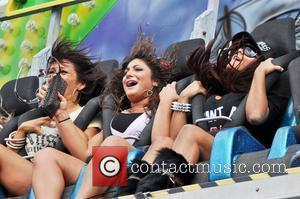 Nicole Polizzi, Deena Cortese and Jenni Farley