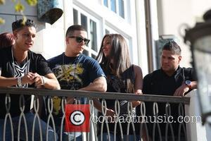 Pauly Delvecchio aka Pauly D, Vinny Guadagnino, Ronnie Ortiz-Magro and Sammi Giancola The cast of MTV's 'Jersey Shore' are interviewed...