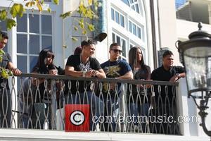 Nicole Polizzi, Jenni Farley, Mario Lopez and Mtv