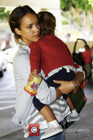 Jessica Alba and Her Daughter Honor Marie Warren