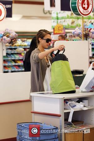 Jessica Alba and Her Daughter Go Shopping At Rite Aid In Beverly Hills