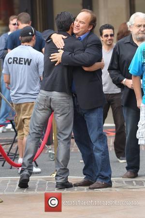 Mario Lopez and Jim Belushi