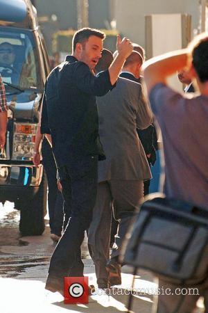 Ben Affleck and Jimmy Kimmel