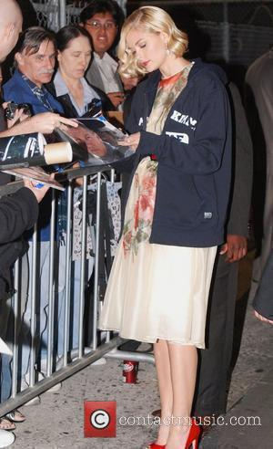 Jamie King outside the ABC studios before her appearance on 'Jimmy Kimmel Live!'  Los Angeles, California - 16.09.10