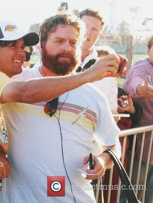 Zach Galifianakis and Jimmy Kimmel