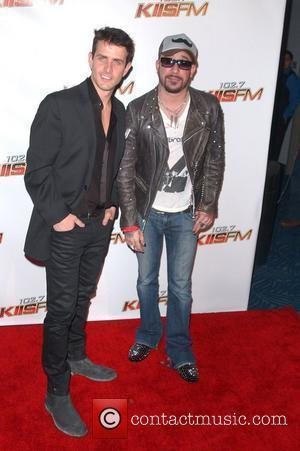 Joey McIntyre, AJ McLean KIIS FM's Jingle Ball 2010 at Nokia Theater L.A. Live - Arrivals Los Angeles, California -...