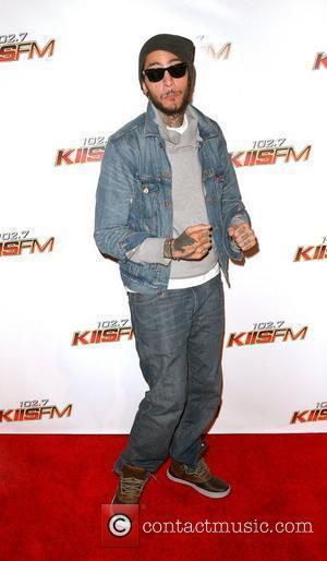 Travie McCoy KIIS FM's Jingle Ball 2010 at Nokia Theater L.A. Live - Arrivals Los Angeles, California - 05.12.10