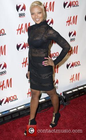 Eva Marcille Z 100's Jingle Ball 2010 presented by H&M at Madison Square Garden - Arrivals New York City, 10.12.10
