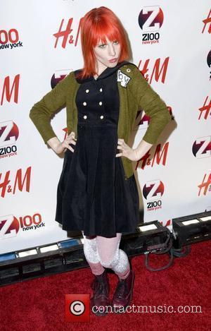 Hayley Williams Z 100's Jingle Ball 2010 presented by H&M at Madison Square Garden - Arrivals New York City, 10.12.10