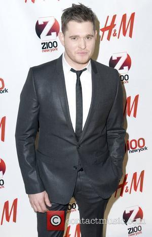 Michael Buble Z 100's Jingle Ball 2010 presented by H&M at Madison Square Garden - Arrivals New York City, 10.12.10