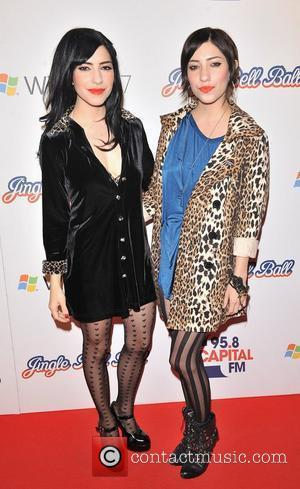 The Veronicas The Jingle Bell Ball held at the O2 Arena. London, England - 06.12.09