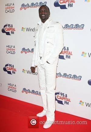 Akon Jingle Bell Ball held at The O2 Arena London, England - 05.12.10