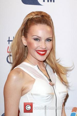 Kylie Minogue, Frankie Sandford, Mollie King, Rochelle Wiseman and Vanessa White