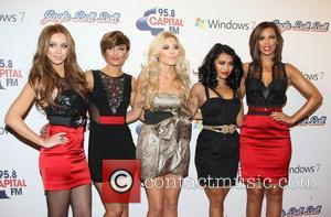 Una Healy, Rochelle Wiseman, Frankie Sandford, Mollie King, Vanessa White,  Jingle Bell Ball held at The O2 Arena London,...