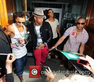Aston Merrygold, Marvin Humes, Jonathan Gill Aka Jb and Oritse Williams