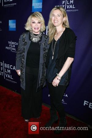 Joan Rivers and Ricki Stern