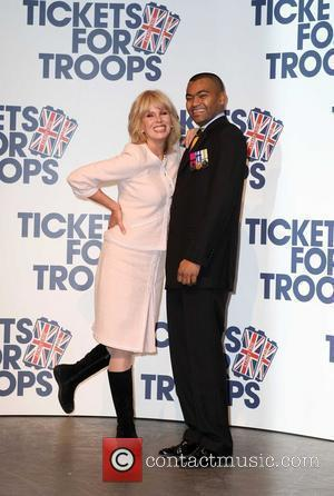 Joanna Lumley and Johnson Beharry Vc
