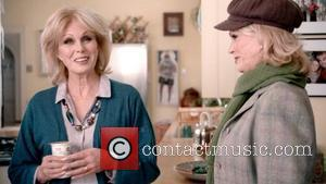 Joanna Lumley appears in a new advert for Muller Vitality probiotic yoghurts, aimed at over 55s to help maintain a...