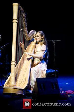 Joanna Newsom performing live at the Royal Festival Hall London, England - 11.05.10
