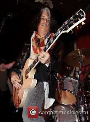 Joe Perry performing live in concert at the 100 Club London, England- 13.04.10