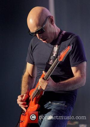Joe Satriani Performing on the first night of his UK tour at Manchester Apollo  Manchester, England - 17.10.10
